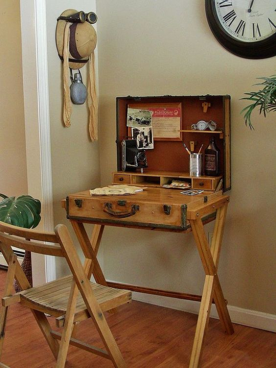 DIY Desk Transformations from Pinterest